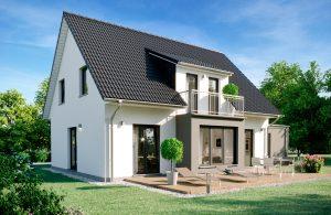 Einfamilienhaus Beryll Gartenansicht