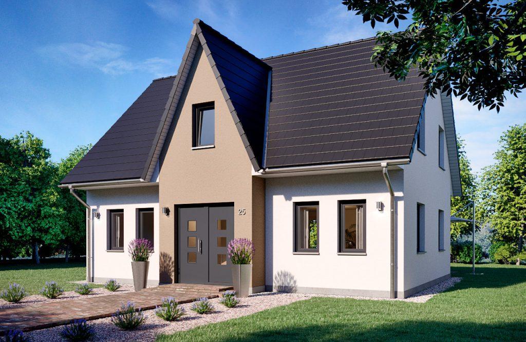 Einfamilienhaus Jade 140 Frontansicht